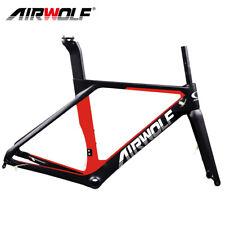 AIRWOLF Carbonrahmen Rennrad Disc Fahrradrahmen Sattelstütz Gabel Rahmensatz