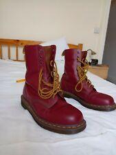 Dr Martens 1490 Vintage 10 EYE  Made In England Size UK 10 Quilon Leather EU 45