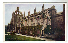 King's College - Old Aberdeen Photo Postcard c1950
