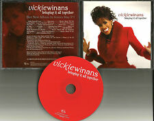 VICKIE WINANS Bringing it all Together RARE ADVNCE PROMO DJ CD 2003 MINT
