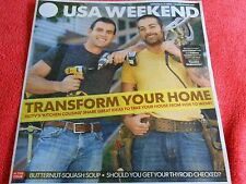 USA WEEKEND OCTOBER 2013 TRANSFORM YOUR HOME HGTV KITCHEN COUSINS THYROID