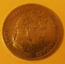 Monnaies Semi Modernes, Louis Philippe I, 5 Francs  1841 tête laurée BB