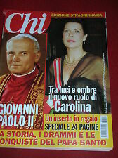 CHI N° 14  2005 SPECIALE GIOVANNI PAOLO II  AL BANO  NICOLE KIDMAN  WILBUR SMITH