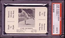 1936 S AND S GAME CARL HUBBELL  PSA 9 MINT