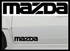2 X MAZDA LARGE VINYL CAR STICKERS DECALS