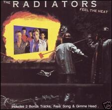 RADIATORS - FEEL THE HEAT CD w/BONUS Trax! GIMME HEAD 80's AUSTRALIAN ROCK *NEW*