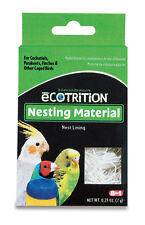 8IN1 NEST NESTING BOX MATERIAL BED BIRD GREAT FOR BREEDING. LOT OF TWO BOXES
