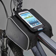 1.8L Bolsa Funda De Tubo Soporte Para Móvil Teléfono Bicicleta Ciclismo Deporte