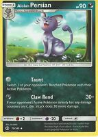POKEMON SUN & MOON CARD: ALOLAN PERSIAN - 79/149
