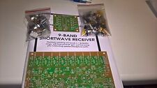 KIT 9band  HF transistor regenerative receiver AM/SSB/CW