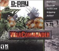 War Commander D-Day June 6, 1944 Computer Game PC CD Complete