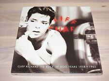 CLIFF RICHARD 4 CD CAJA - THE ROCK´N´ROLL YEARS 1958-1963 / EMI in MINT