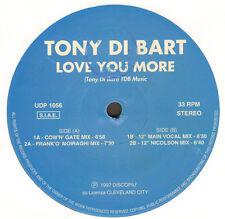 TONY DI BART - Love You More - UDP