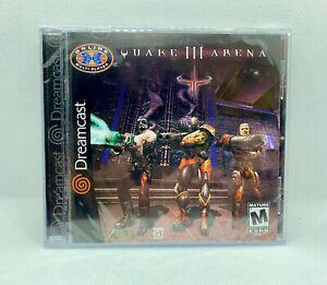 Quake III Arena (Sega Dreamcast, 2000) NEW & FACTORY SEALED