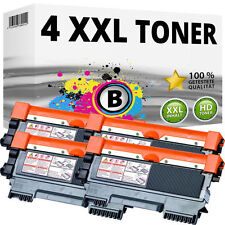 4 Toner für Brother DCP-7055w 7057 HL-2130 2132e 2135w FAX 2840 2845 2940 TN2010