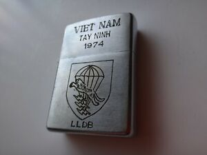 VIETNAM War Year 1974 Zippo Lighter VIETNAM TAY NINH 1974, ARVN SPECIAL FORCES