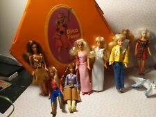 Glamour Gals Dazzle and Other Mini Fashion Doll Lot with Vintage Case