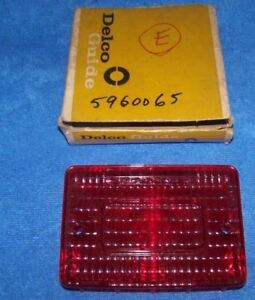 1970 Chevrolet Brookwood Townsman Station wagon Tail Light Lens GM/Delco 5960065