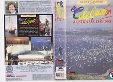 AUSTRALIA DAY 1988 CELEBRATION ~VHS VIDEO PAL ~A RARE FIND~