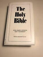 King James Version New Testament Holy Bible On 12 Cassette Tapes