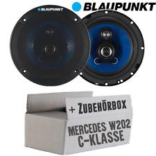 Blaupunkt Lautsprecher für Mercedes CKlasse W202 Ablage 16cm Boxen PKW Einbauset