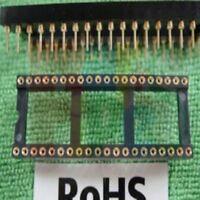 12pcs 40 PIN GOLD DIP IC SOCKET PANEL ADAPTER SWAP,G40S
