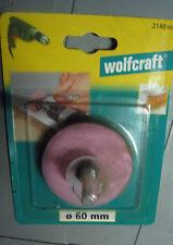 Wolfcraft   Messer- und Scherenschärfer Ø 60 mm   - 2140000