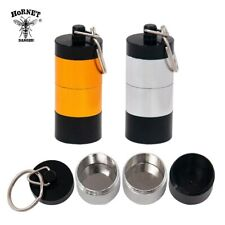 1x Stash Jar Airtight Smell Proof Aluminum Container Spice Case Tobacco Box