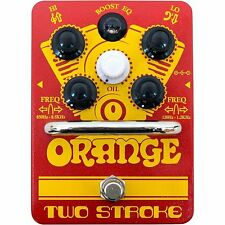 Orange*TWO-STROKE*Boost active dual-parametric EQ Guitar Effect Pedal FREE SHIP