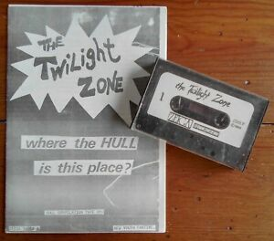 THE TWILIGHT ZONE CASSETTE & MUSIC FANZINE, 17 BANDS, EARLY HOUSEMARTINS, 1984