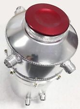 "OBX ALUMINUM OIL DRY SUMP TANK 16"" X 7"" 5QT 6 FITTINGS For Universal Fitment"