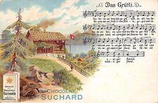 932) CIOCCOLATA, CHOCOLAT SUCHARD, DAS GRUTLI (SEELISBERG, SVIZZERA).