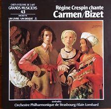 Régine Crespin Chante Carmen/Bizet Orch Phil de Strasbourg - Livre/Vinyl