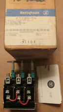 NEW NOS Westinghouse FT23A-54 Thermal Overload Relay 3 Pole 36-54 Ampere Range
