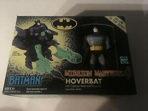 NIB Batman Mission Masters 4 HOVERBAT vehicle w/ Batman figure  2002 Hasbro