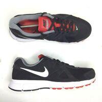 NIKE Revolution 2 Men's Size 10.5 Black, Red,& White Athletic Shoes 573751-016