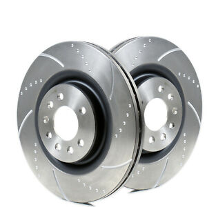 SUZUKI Swift (Z31) 1.6 Sport Front Dimpled And Grooved Brake Discs