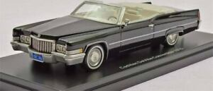 1970 Cadillac DeVille Convertible Black in 1:43 Scale by Neo NEO47146