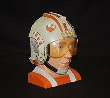 1996 Star Wars Luke Skywalker X-Wing Pilot Toy Head Mini Play Set Lewis Galoob