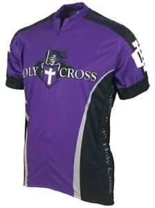 NCAA Men's Adrenaline Promotions Holy Cross Saints Cycling Jersey