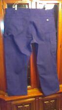 Mens 44 X 30 Dickies Black Triple Stitch Heavy Duty Canvas Gauge Carpenter Pants