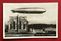 Foto AK FRIEDRICHSHAFEN am Bodensee um 1930 Luftschiff Zeppelin   ( 63392