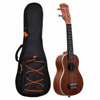 21/23/26/30inch Ukulele Guitar Bag Double Strap Soft Case Padded Gig Bag