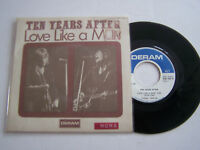 SP 2 TITRES VINYLE 45 T , TEN YEARS AFTER , LOVE LIKE A MAN .VG / VG + LANGUETTE