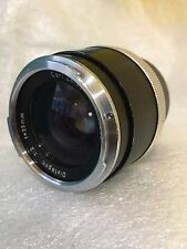 Carl Zeiss Distagon 35mm / 1:2 for Contarex Cameras Serial Nr. 3693965