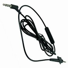 3.5mm Inline Mic Audio Cable Cord For Bose AE2 AE2i AE2w Around-Ear Headphones