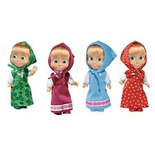 Masha 12cm Russian Doll Masha and the Bear -1 pcs Random Model