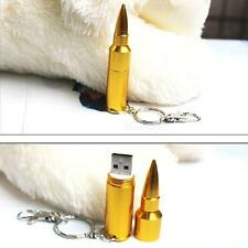 64GB Metal Bullet USB 2.0 Flash Pen drive Memory Stick Thumb Storage U Disk New