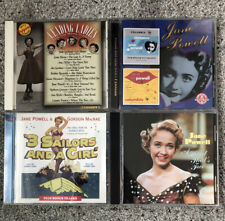 Lot of 4 Jane Powell Collectible CD's A Heart That's Free, Romance, & More