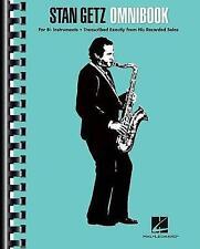 Stan Getz - Omnibook: For B-Flat Instruments by Getz, Stan -Paperback